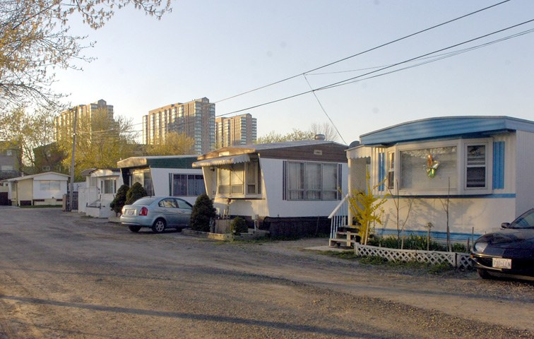 Wohnwagensiedlung Usa