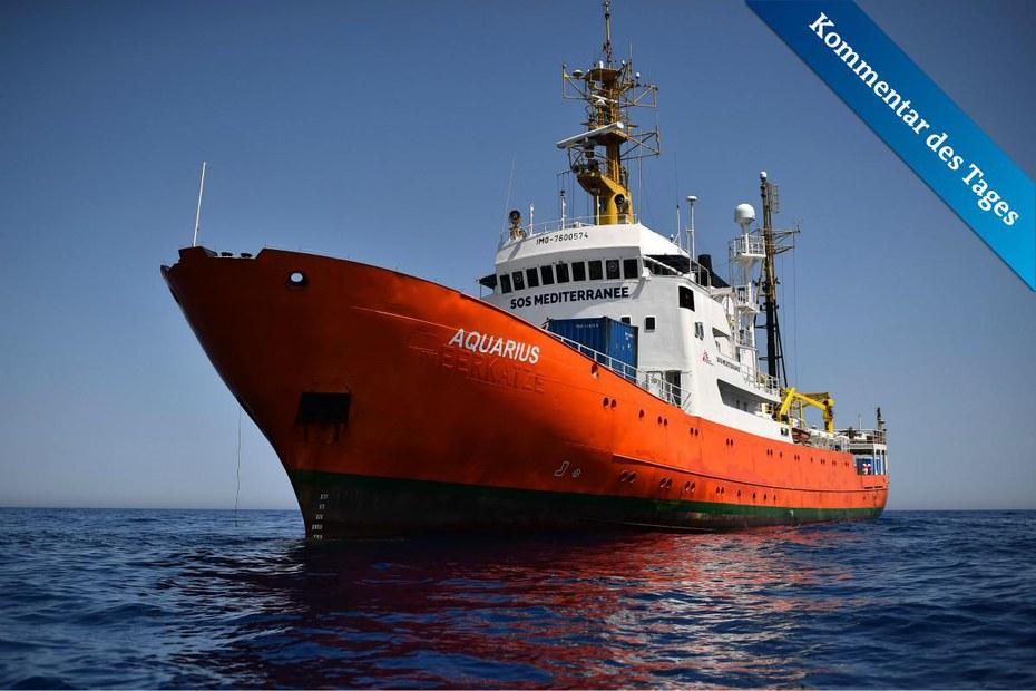 Seenotrettung ǀ Die Aquarius auf der Suche nach dem Recht — der Freitag