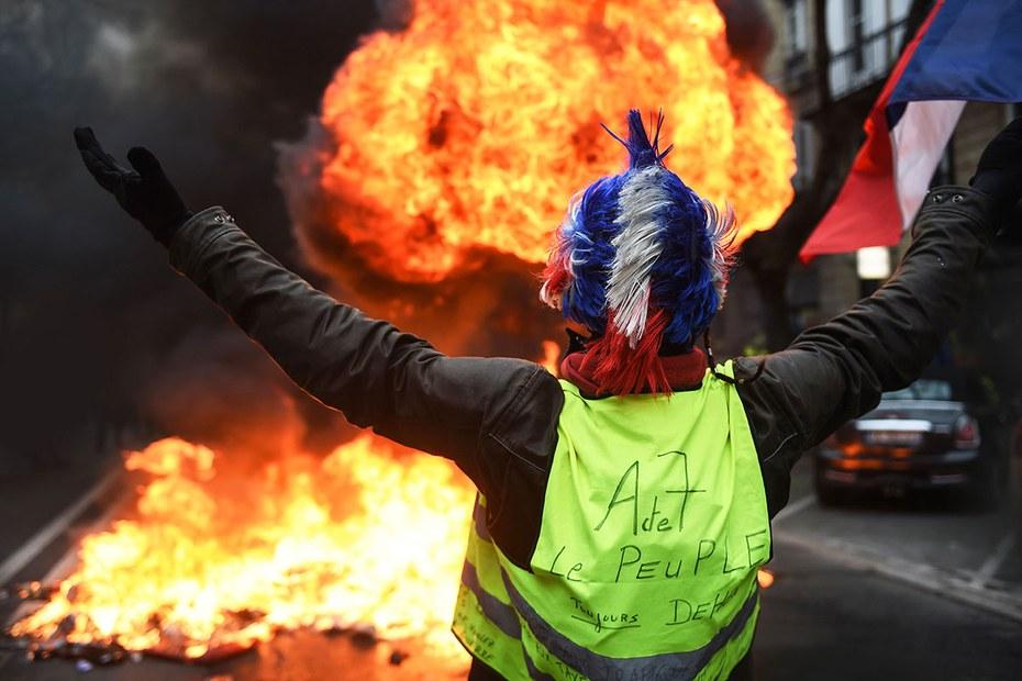 Frankreich ǀ Mit Gelber Flagge Nach Europa Der Freitag