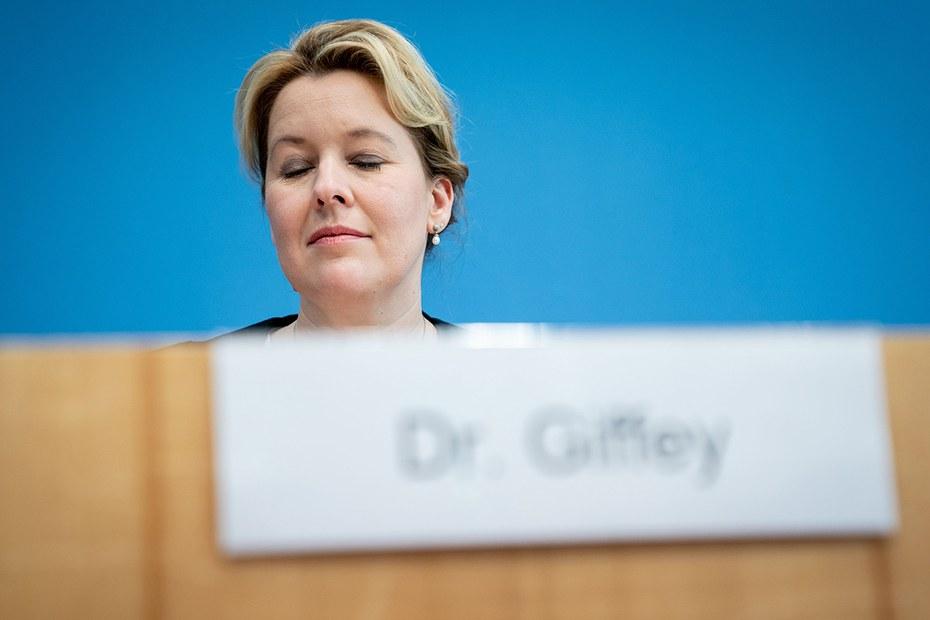 Doktorarbeit - Es wäre schade um Franziska Giffey